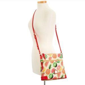 NWT DOONEY AND BOURKE Ambrosia Crossbody Bag 🧡💚